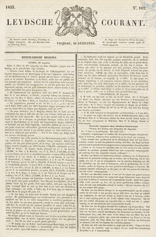 Leydse Courant 1853-08-26