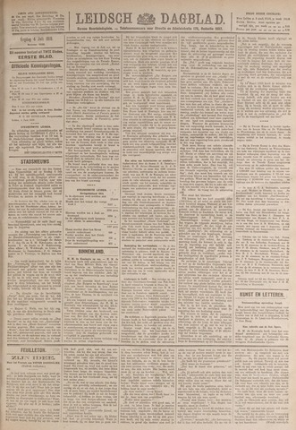 Leidsch Dagblad 1919-07-04