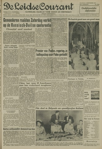 Leidse Courant 1955-09-12