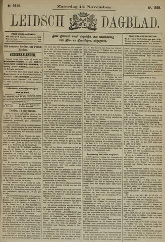Leidsch Dagblad 1890-11-15