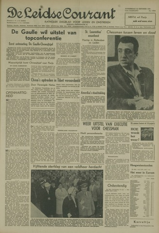 Leidse Courant 1959-10-22