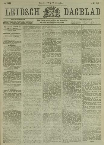 Leidsch Dagblad 1909-10-07