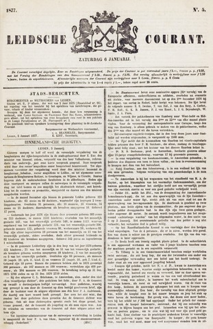 Leydse Courant 1877-01-06