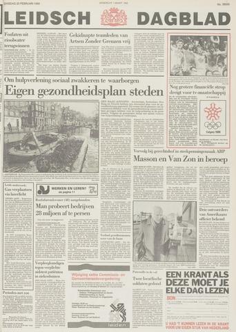 Leidsch Dagblad 1988-02-23