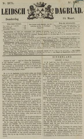 Leidsch Dagblad 1867-03-14