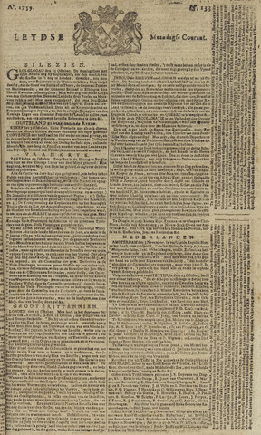 Leydse Courant 1759-11-05