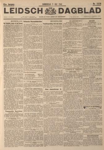 Leidsch Dagblad 1942-07-09