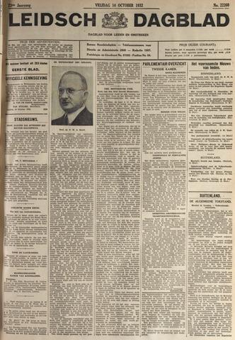 Leidsch Dagblad 1932-10-14