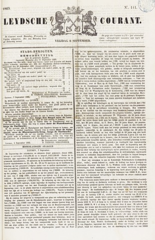 Leydse Courant 1865-09-08