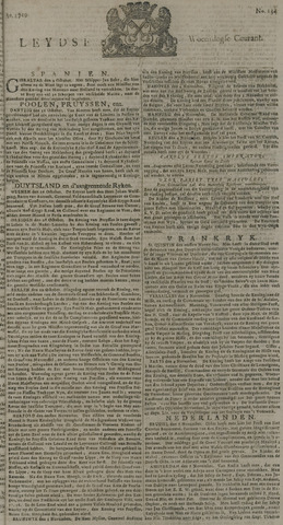 Leydse Courant 1729-11-09