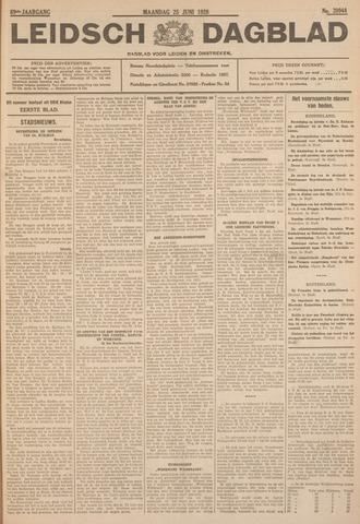 Leidsch Dagblad 1928-06-25