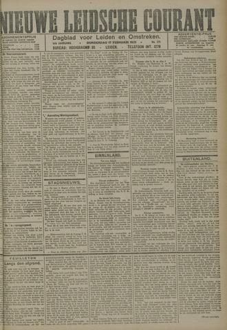 Nieuwe Leidsche Courant 1921-02-17
