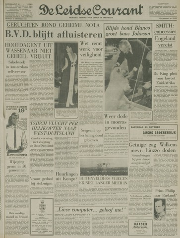 Leidse Courant 1965-10-22