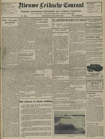 Nieuwe Leidsche Courant 1938-10-05