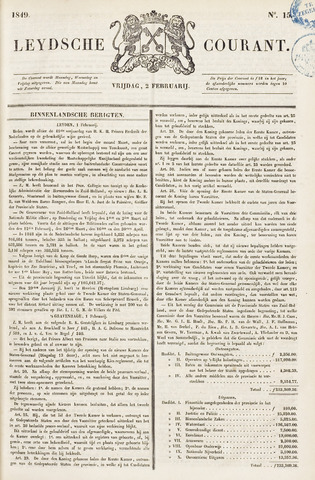 Leydse Courant 1849-02-02