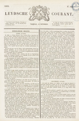 Leydse Courant 1852-10-15