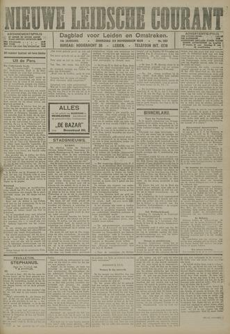 Nieuwe Leidsche Courant 1921-11-22