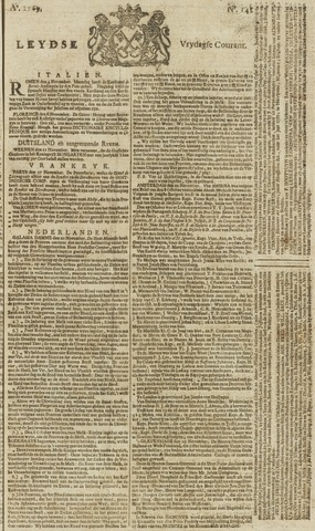 Leydse Courant 1769-11-24