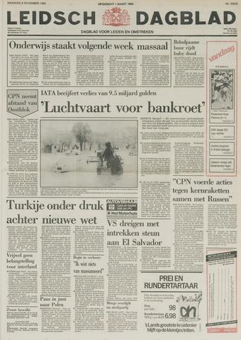 Leidsch Dagblad 1982-11-08