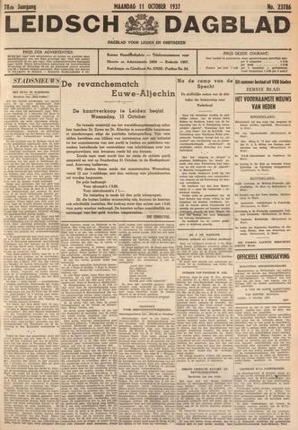 Leidsch Dagblad 1937-10-11