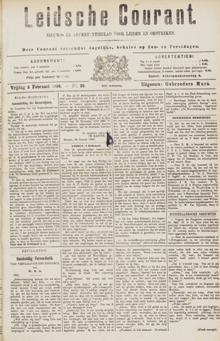 Leydse Courant 1889-02-08