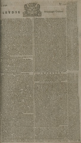 Leydse Courant 1740-10-19