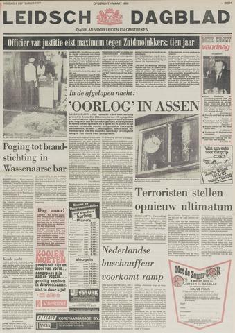 Leidsch Dagblad 1977-09-09