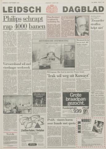 Leidsch Dagblad 1990-09-04