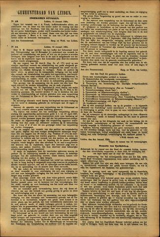 Handelingen van de Raad 1894-01-15
