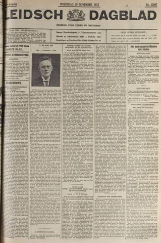 Leidsch Dagblad 1933-11-29