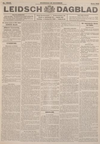 Leidsch Dagblad 1923-11-28