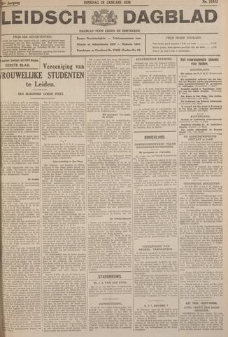 Leidsch Dagblad 1930-01-28