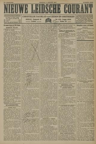Nieuwe Leidsche Courant 1927-01-11