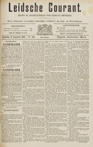 Leydse Courant 1885-08-15