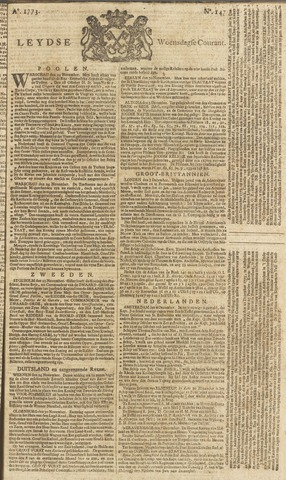 Leydse Courant 1773-12-08