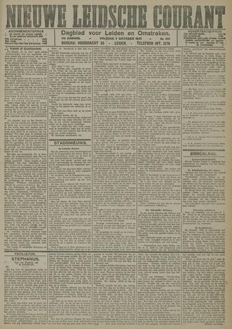 Nieuwe Leidsche Courant 1921-10-07