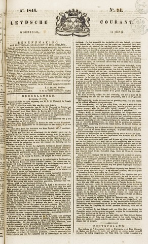 Leydse Courant 1844-06-19