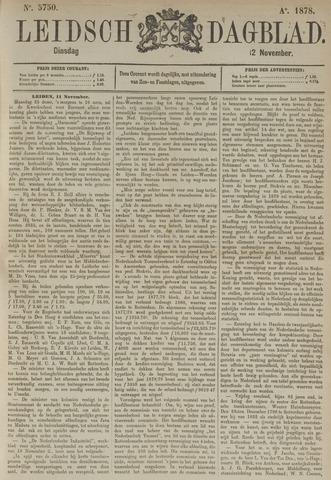 Leidsch Dagblad 1878-11-12