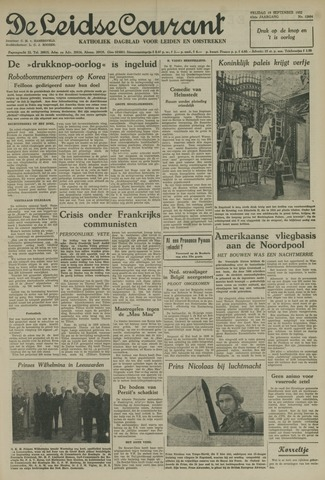 Leidse Courant 1952-09-19