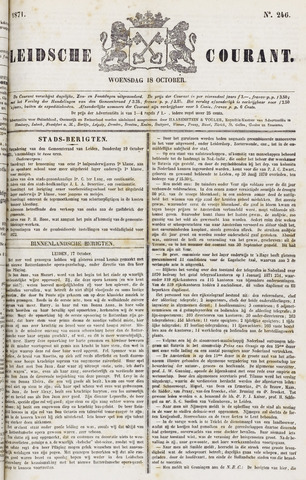 Leydse Courant 1871-10-18