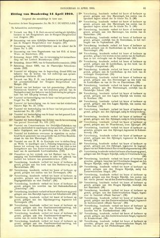 Handelingen van de Raad 1910-04-14