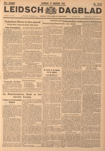 Leidsch Dagblad 1942-08-22