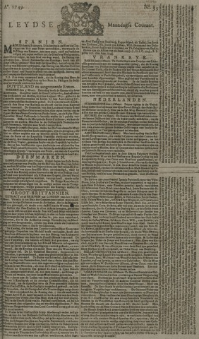 Leydse Courant 1749-03-17