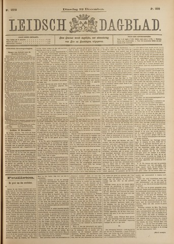 Leidsch Dagblad 1899-12-12