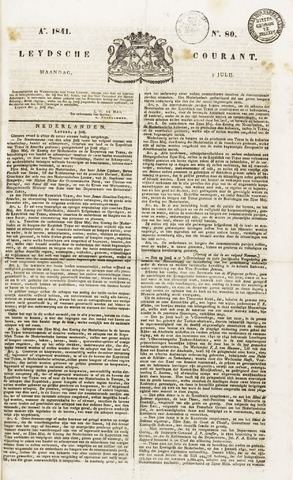 Leydse Courant 1841-07-05