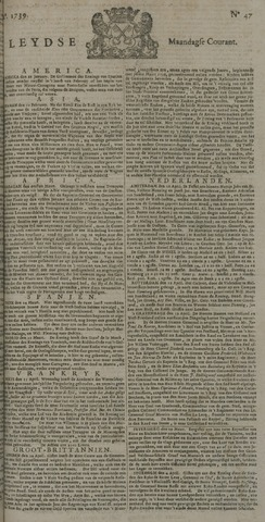 Leydse Courant 1739-04-20