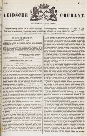 Leydse Courant 1876-09-14