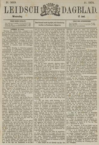 Leidsch Dagblad 1878-06-12