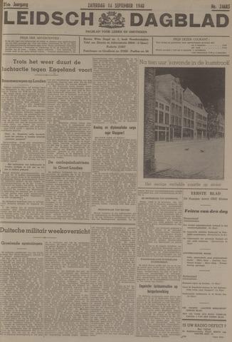 Leidsch Dagblad 1940-09-14
