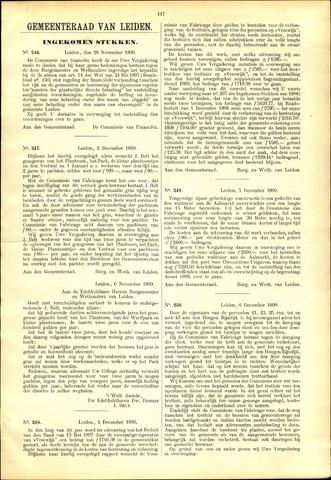 Handelingen van de Raad 1899-11-28